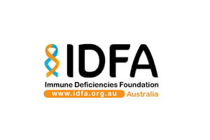 Immune Deficiencies Foundation Australia Logo 2020