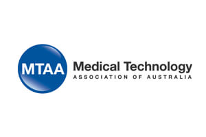 Medical Technology Association of Australia Logo 2020
